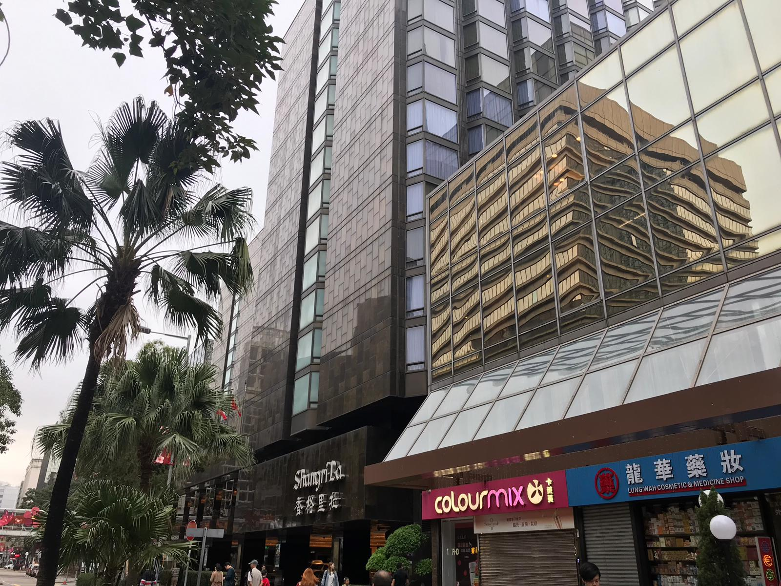 Kowloon Shangri-La Hotel – Replacement of Busway | BYME